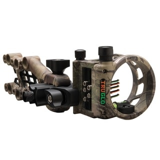 TRUGLO Carbon Hybrid Micro Adjust 5 Pin Sight Realtree Xtra