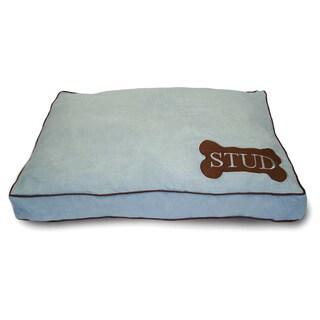 Stud Mini Dog Bone Powder/ Pink Large Pet Bed