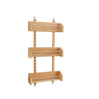 Rev A Shelf 4ASR 18 Medium Adjustable Door Mount Spice Rack