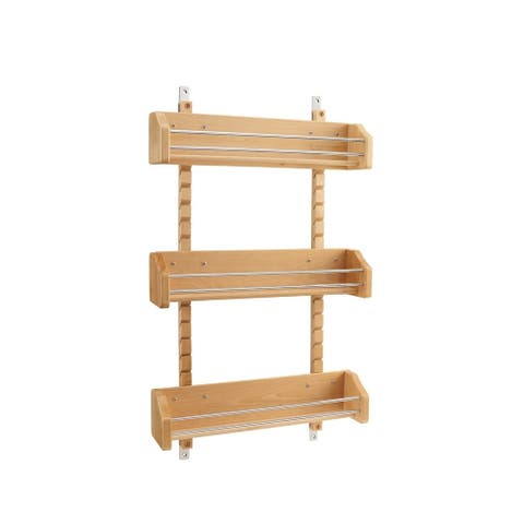Rev-A-Shelf 4ASR-21 Large Adjustable Door Mount Spice Rack