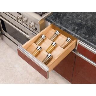 Rev-A-Shelf 4SDI-18 Wood Spice Drawer Insert