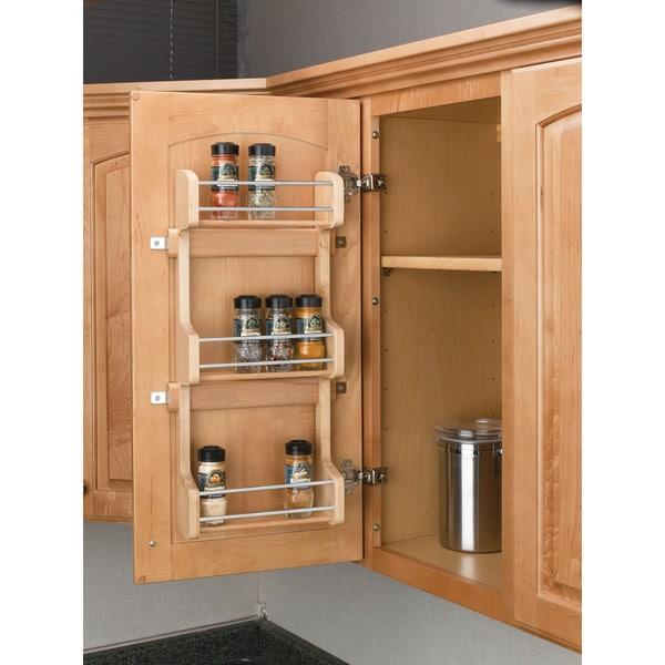 rev a shelf 4sr 15 small door mount spice rack free. Black Bedroom Furniture Sets. Home Design Ideas