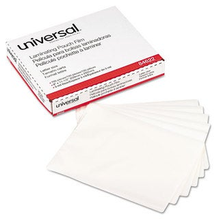 Universal Clear 3mil Laminating Pouches