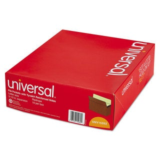 Universal 5 1/4 Inch Redrope/Manila Expansion File Pockets