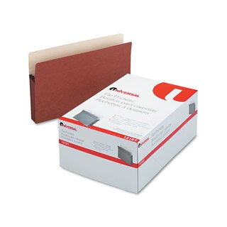 Universal 3 1/2 Inch Redrope/Manila Expansion File Pockets