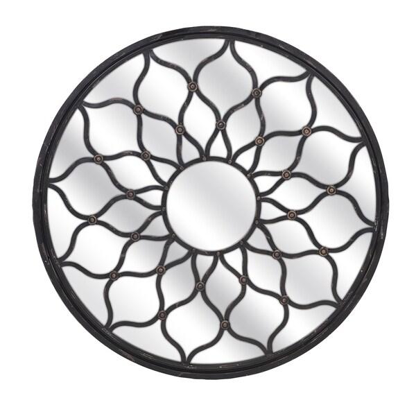 Maske Iron Mirror - Round - Black - A/N