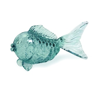 Pisces Glass Fish Tabletop Statuary
