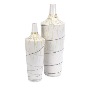 Curasso Retro Finish Vases (Set of 2)