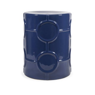 Essentials Marine Blue Garden Stool