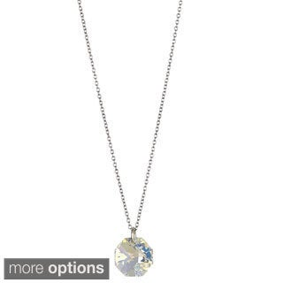 Decadence Sterling Silver Austrian Crystal Xilion Necklace