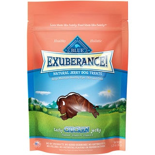 Blue Buffalo Exuberance Natural Chicken Jerky Treat