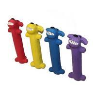 Multipet Loofa Ruff 6-inch Latex Dog Toy