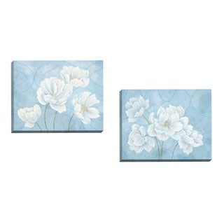 Portfolio Canvas Decor Claire Hudson 'Pure Grace I' Framed Canvas Wall Art (Set of 2)