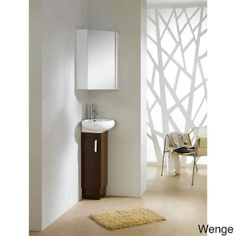 Fine Fixtures Milan 15-inch Vanity with Vitreous China Sink Top