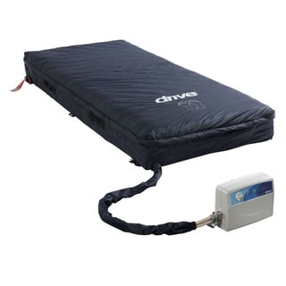 Drive Medical Med-Aire Assure 5-inch Air with 3-inch Foam Base Alternating Pressure and Low Air Loss Mattress System