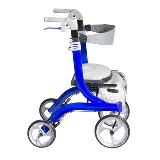 "Drive Medical Nitro DLX Euro Style Walker Rollator - 28-35""h"