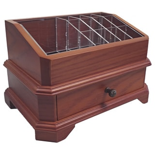 Rome Wood Cosmetic Organizer