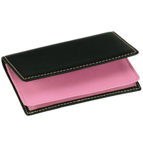 Royce Executive Genuine Leather Card Case