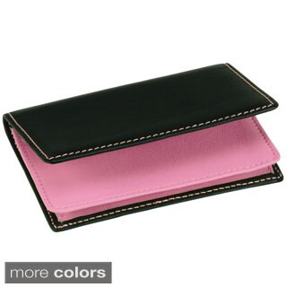 Royce Executive Genuine Leather Card Case