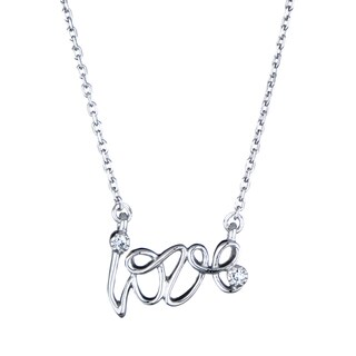 Sterling Silver Sterling Silver Love Necklace