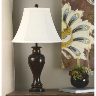 25-inch Walnut Ridge Table Lamp