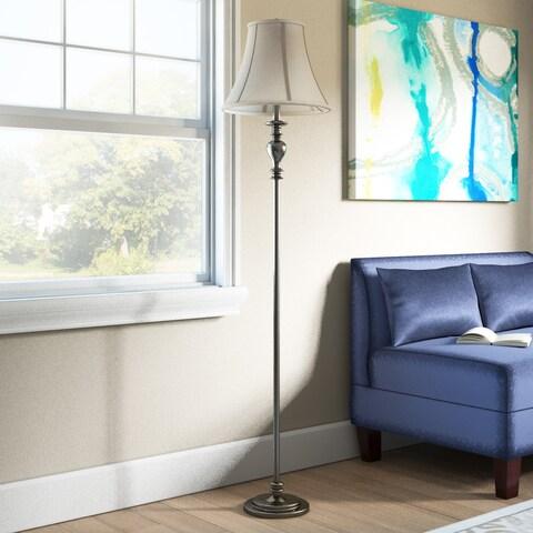 61.5-inch Brass Floor Lamp