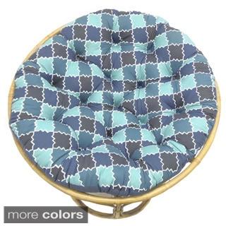Celebration Moroccan Print Papasan Cushion