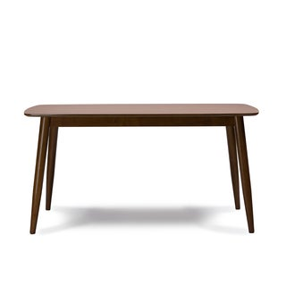 Sacramento Mid-Century Solid Wood Dining Table