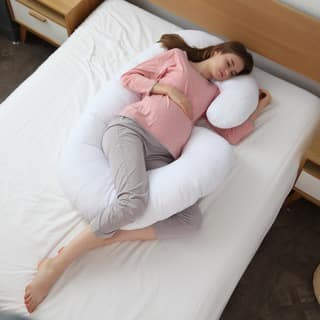 Cheer Collection Alternative Down Premium J Pillow with Zippered Cover|https://ak1.ostkcdn.com/images/products/10172173/P17299730.jpg?impolicy=medium