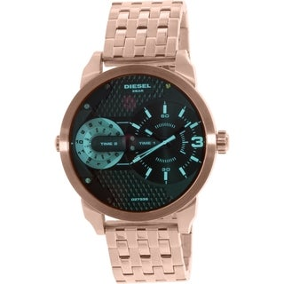 Diesel Men's Mini Daddy DZ7336 Rose Gold Stainless-Steel Quartz Watch