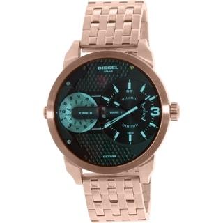 Diesel Men's Mini Daddy DZ7336 Rose Gold Stainless-Steel Quartz Watch