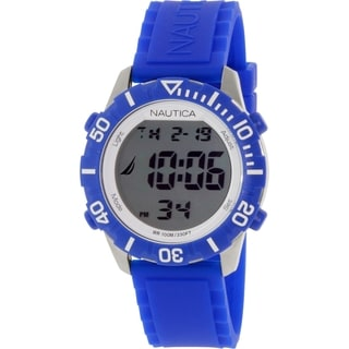 Nautica Men's N09932G Blue Silicone Quartz Watch