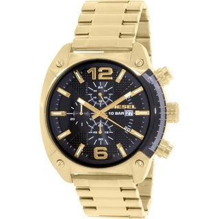 Diesel Men's Overflow DZ4342 Gold Stainless-Steel Quartz Watch