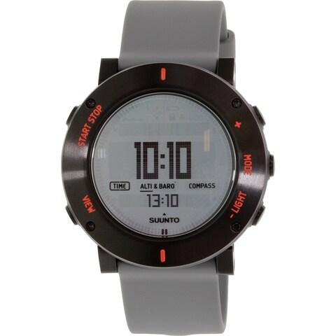 Suunto Men's Core Grey Rubber Quartz Watch