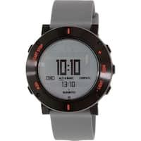 Suunto Men's Core SS020691000 Grey Rubber Quartz Watch