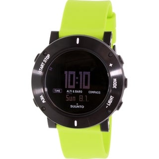 Suunto Men's Core SS020693000 Green Rubber Quartz Watch