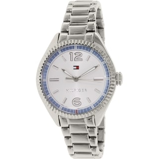 Tommy Hilfiger Women's 1781519 Silver Stainless-Steel Quartz Watch