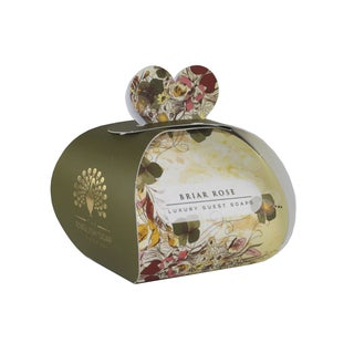 The English Soap Company Briar Rose 3 Luxury Guest Soaps