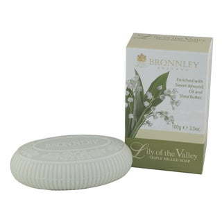 Bronnley England Lily Of The Valley Triple Milled Soaps