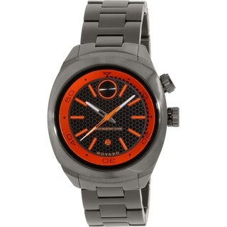 Movado Men's Bold 3600213 Gunmetal Stainless-Steel Swiss Quartz Watch