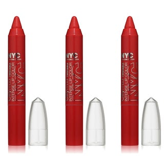 N.Y.C. New York Color City Proof Twistable Intense South Ferry Berry Lip Color (Pack of 3)
