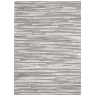 Nourison Capelle Silver Rug (5'3 x 7'4)