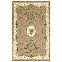 "Nourison Bordeaux Cream Rug - 3'9"" x 5'9"""