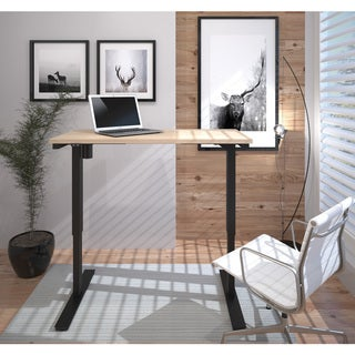 """Bestar 24"""" x 48"""" Electric Height-adjustable Table"""
