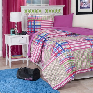 Windsor Home Gracey Striped 22-Piece Reversilble Bed-in-a-Bag Set
