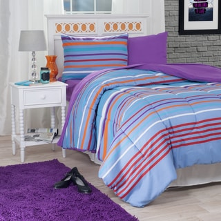 Windsor Home Camden Striped 22-Piece Reversible Bed-in-a-Bag Set