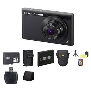 Panasonic Lumix DMC-XS1 Black 16.1 MP Digital Camera Bundle