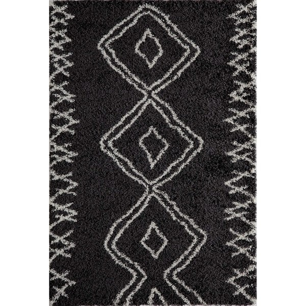 Inca Tribal Shag Rug 7 10 Quot X9 10 Quot Free Shipping Today