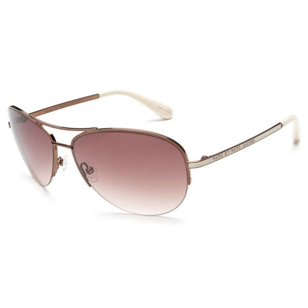 c32f702f413 Shop Marc by Marc Jacobs Women s MMJ 119 S Aviator Sunglasses ...