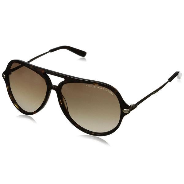 Marc Jacobs Sunglasses Mens  marc by marc jacobs men s mmj 426 s aviator sunglasses free